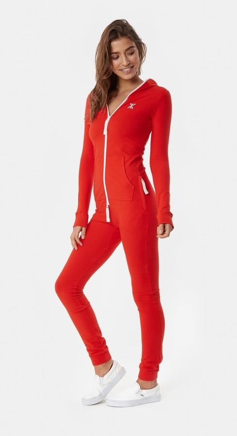OnePiece Original Slim Onesie Red, XS - 2