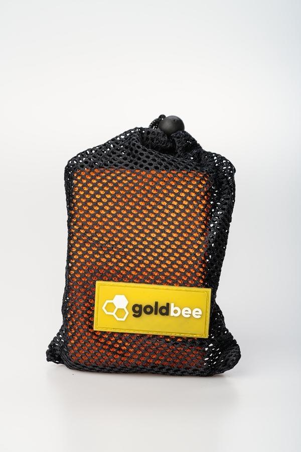 GoldBee Textilní Odporová Guma - Oranžová, S - 2