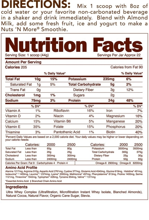 Nuts´n More Protein Isolate Almond Infused Chocolate Mousse - 2