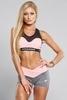 Gym Glamour Kraťásky Grey & Pink - 2/5