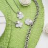 Ops! Objects Glitter Náhrdelník Silver Butterfly - 2/2