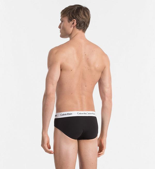 Calvin Klein Slipy Stretch Černé 3pack, L - 2