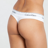 Calvin Klein Thong White, L - 2/2
