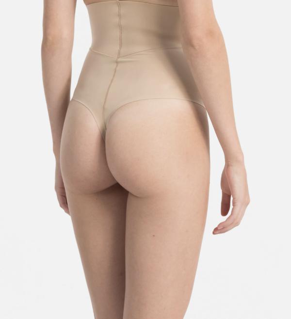 Calvin Klein Tanga Tělové Vysoký Pas, XL - 2