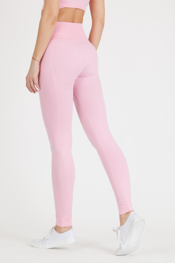GoldBee Legíny BeSeamless Candy Pink, L - 2