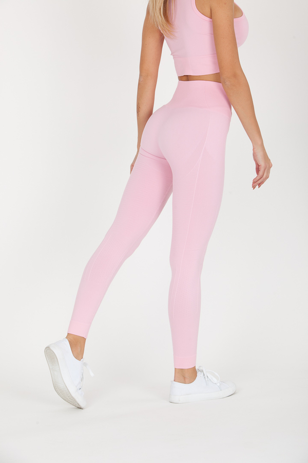 GoldBee Legíny BeSeamless Candy Pink, S - 2