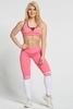 Gym Glamour Legíny Pink & White Socks, M - 2/7