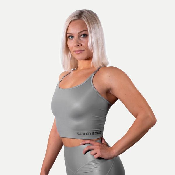 Better Bodies Podprsenka Vesey Strap V2 Steel Grey, M - 2
