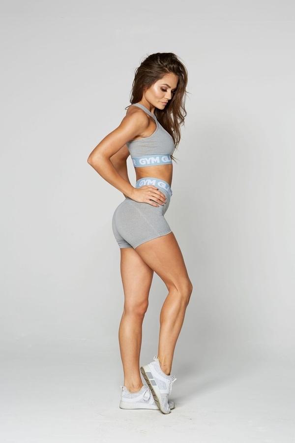 Gym Glamour Kraťásky Grey, XS - 2