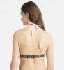 Calvin Klein Plavky Fixed Triangle Bílé Vrchní Díl, S - 2/4