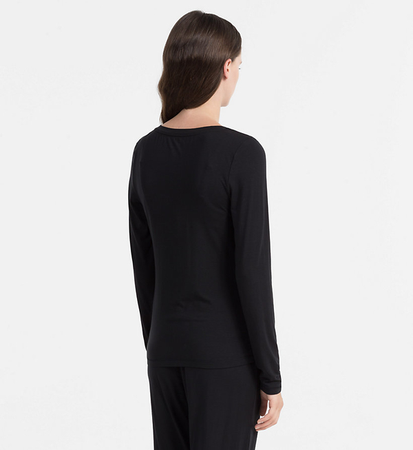 Calvin Klein Triko Sculpted Black, XS - 2