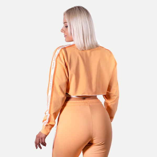 Better Bodies Crop Mikina Chrystie Light Orange, S - 2