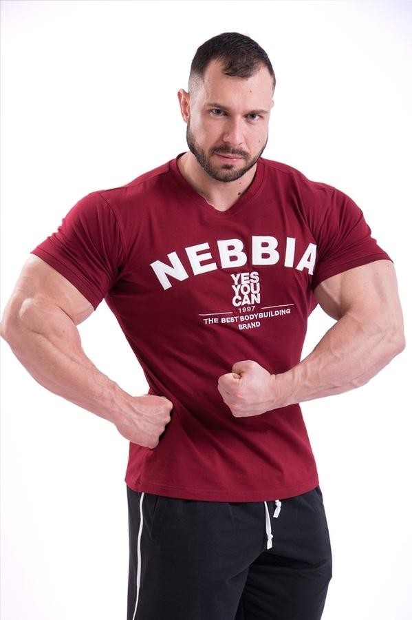 Nebbia Tričko 396 Pánské Hardcore Červené, M - 2