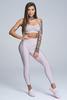 Gym Glamour Legíny High Waist Broken White, XS - 2/4