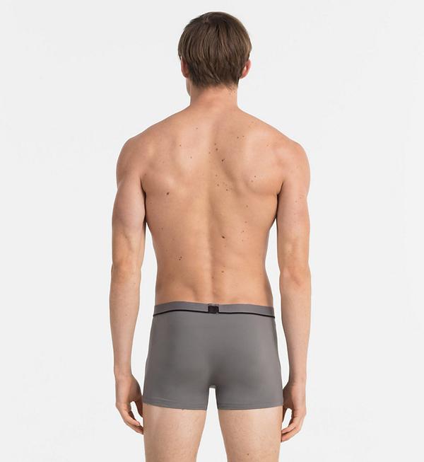Calvin Klein Boxerky Microfiber ID Grey LR, XL - 2