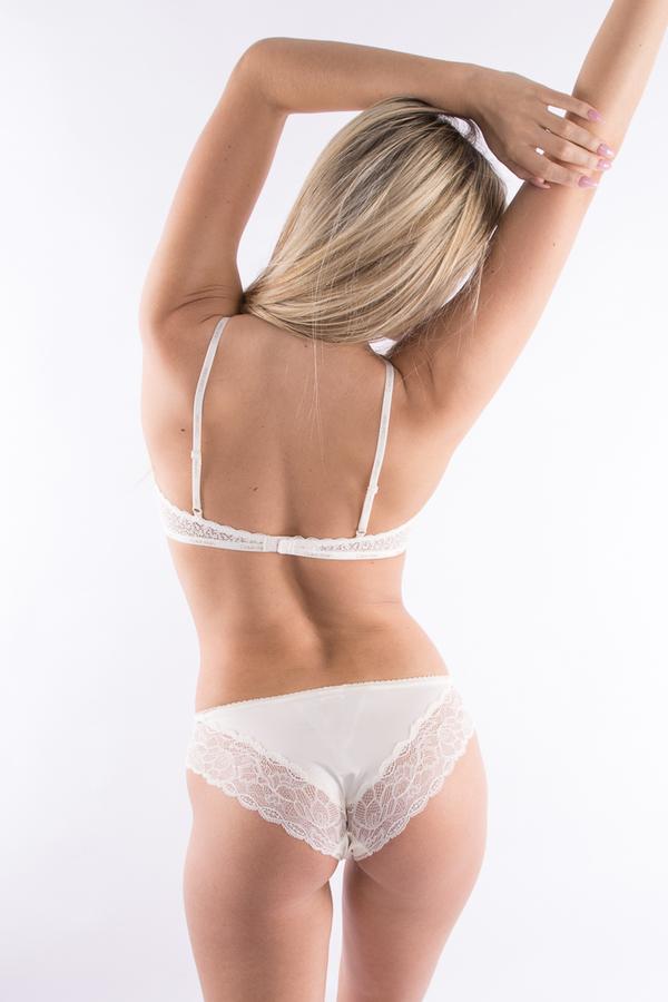 Calvin Klein Kalhotky Flirty Krémové, S - 2