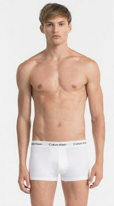 Calvin Klein 2Pack Boxerky White, S - 2
