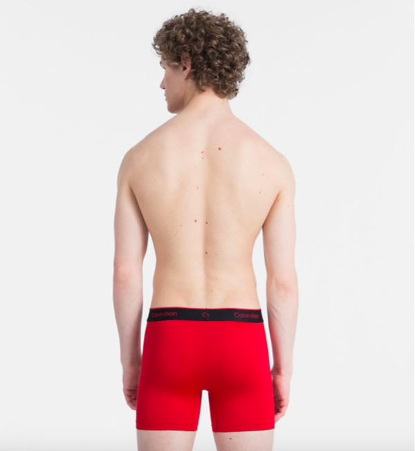 Calvin Klein 2Pack Boxerky Pro Air Red&Black - 2