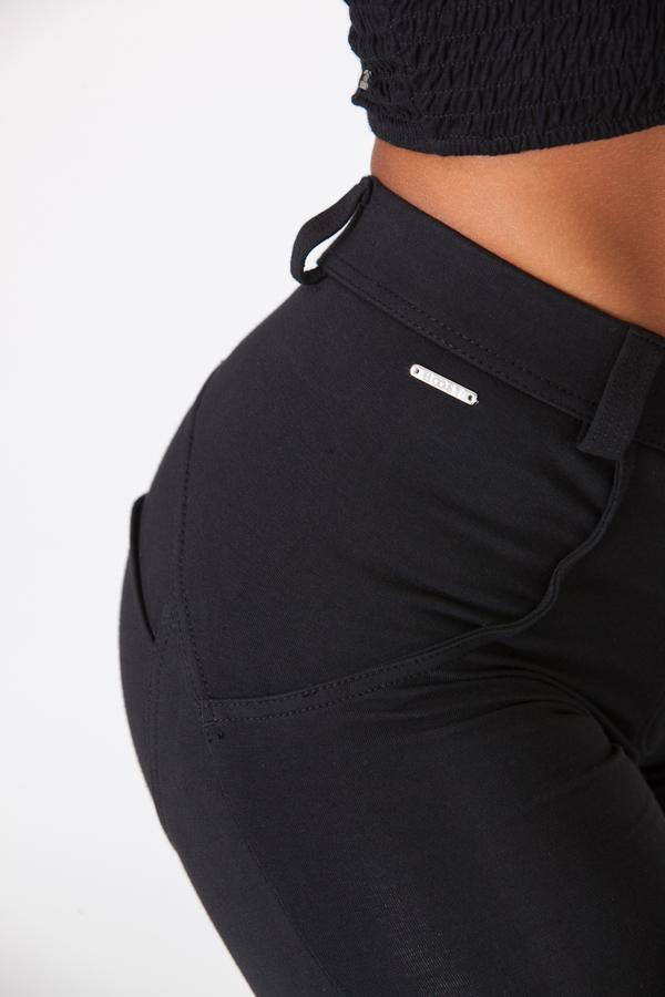 Boost Pants Mid Waist Black - 2