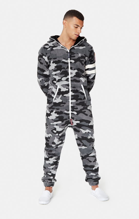 OnePiece Alps Camo Fleece Black - 2