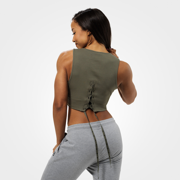 Better Bodies Crop-top Astoria Washed Green, L - 2