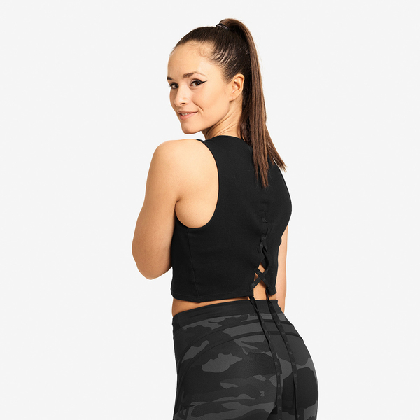 Better Bodies Crop-top Astoria Black, S - 2