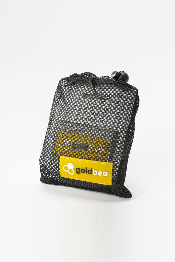 GoldBee Textilní Odporová Guma - Světle Šedá, L - 2