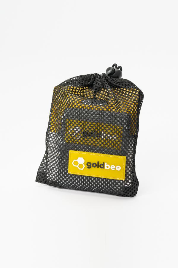 GoldBee Textilní Odporová Guma - Tmavě Šedá, S - 2