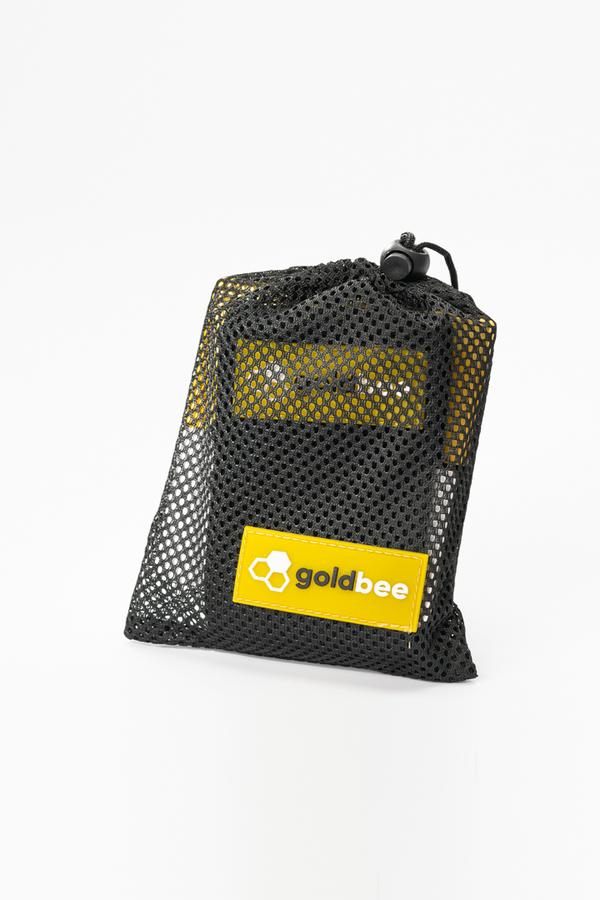 GoldBee Textilní Odporová Guma - Černá, L - 2