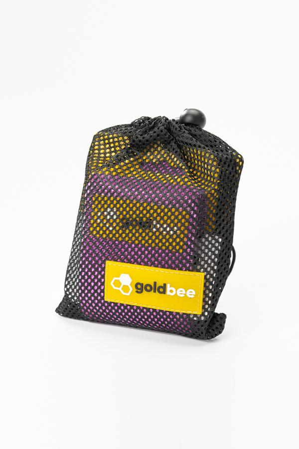 GoldBee Textilní Odporová Guma - Fialová, L - 2