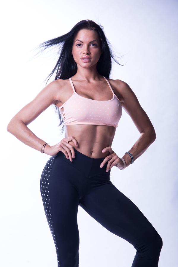 Nebbia 647 N's Fitness Podprsenka Lososová, M - 2