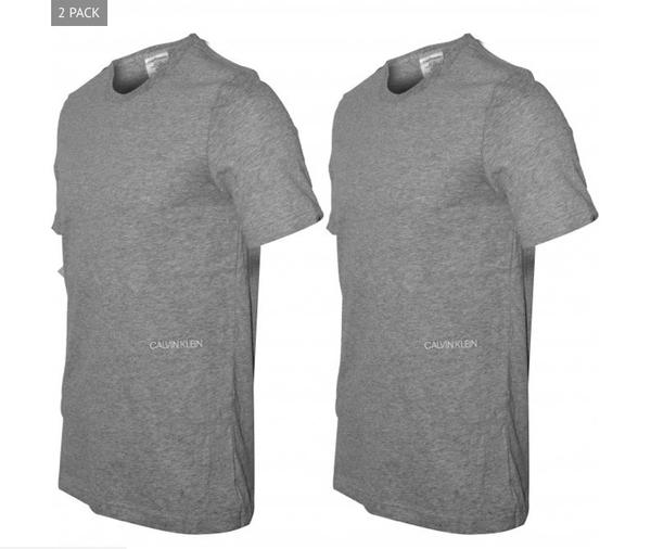 Calvin Klein 2Pack T-Shirts STATEMENT 1981 Grey - 2