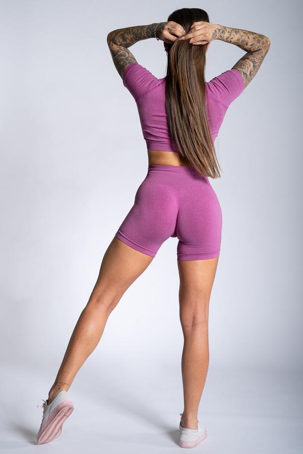 Gym Glamour Kraťásky Pink Ombre - 2
