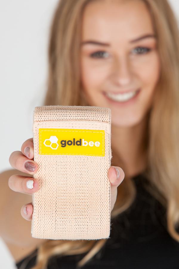 GoldBee Textilní Odporová Guma Meruňková, M - 2