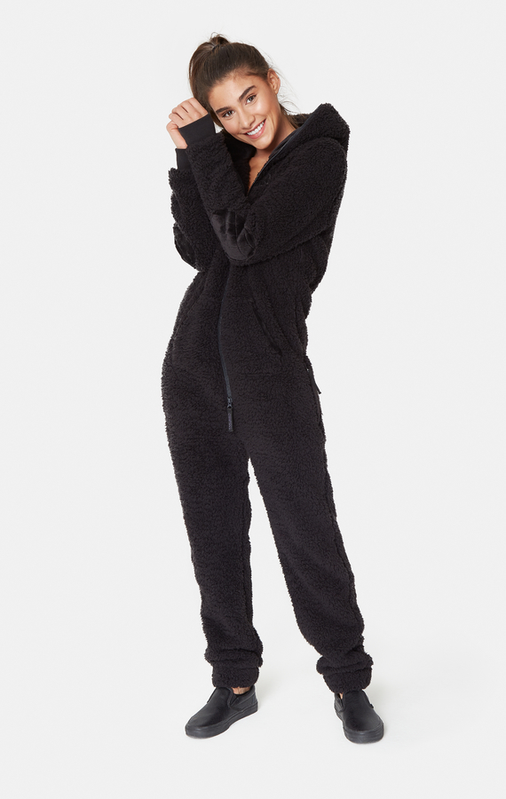 OnePiece Teddy Love Fleece Black - 2