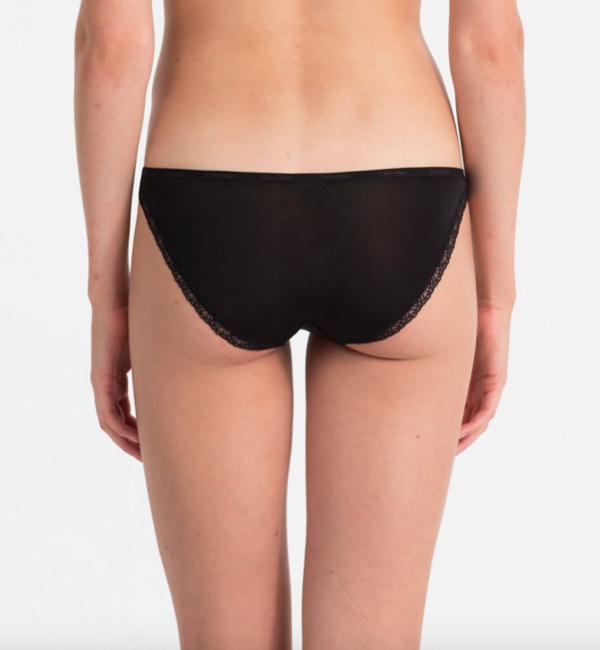 Calvin Klein Kalhotky Bottoms Up Černé - 2