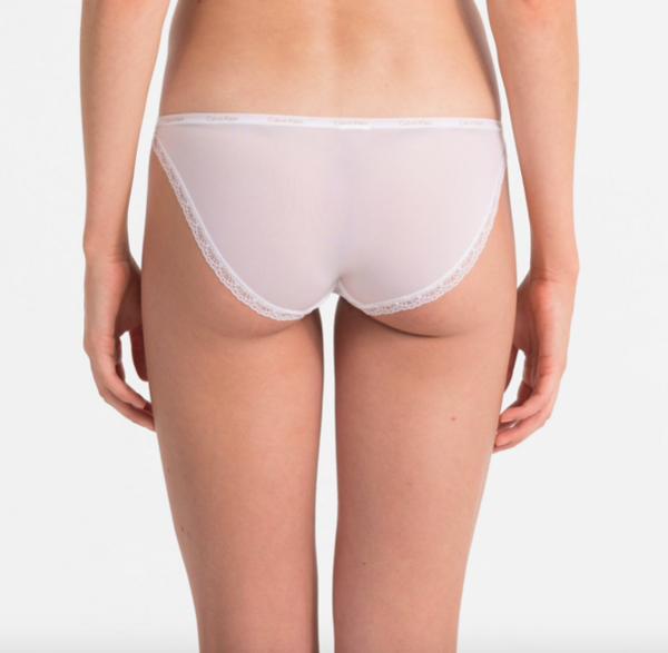 Calvin Klein Kalhotky Bottoms Up Bílé, M - 2