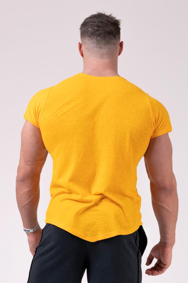 Nebbia Tričko 172 Label Muscle Back - Orange, XXL - 2