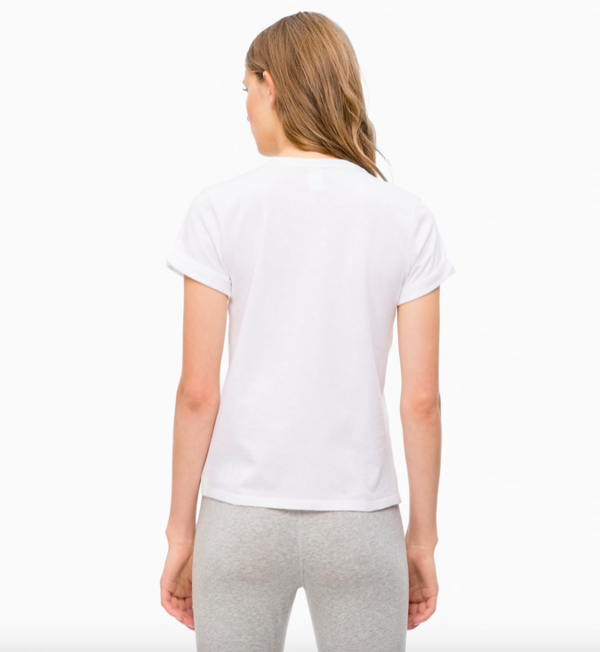 Calvin Klein Tričko 3D Logo White, M - 2