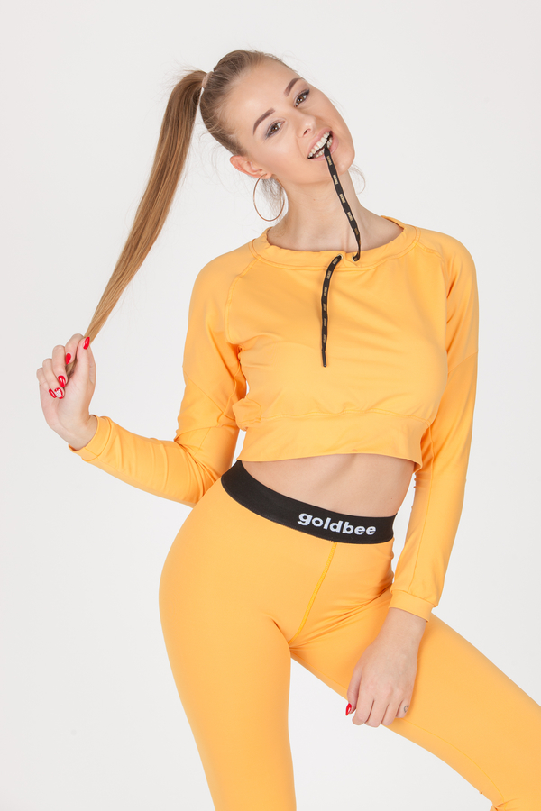 GoldBee CropTop BeCool Sweet Apricot - 3