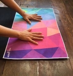 Malý Ručník Yoga Design - Geo - 3