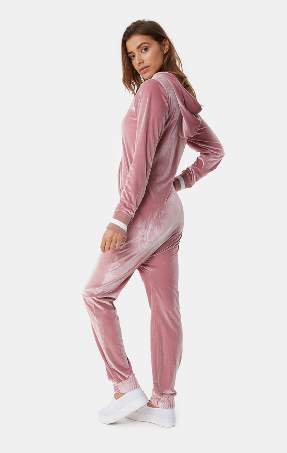 OnePiece Original Velour Faded Pink, XS - 3