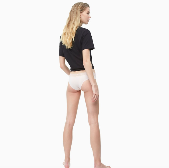 Calvin Klein Brazilky Logo Lace Nymphs Thigh - 3
