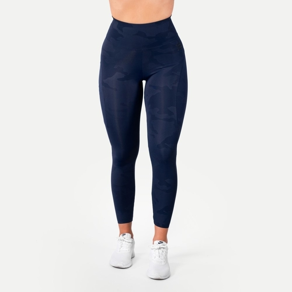 Better Bodies Legíny High Waist Dark Navy, M - 3
