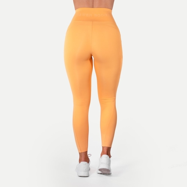 Better Bodies Legíny High Waist Light Orange, M - 3