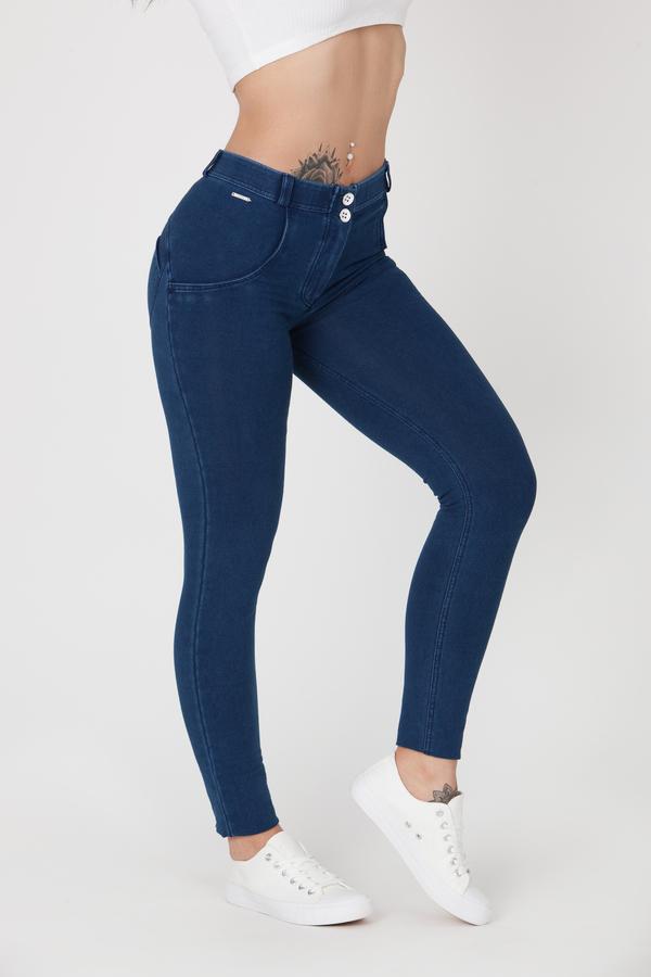 Boost Jeans Mid Waist P Dark Blue, XL - 3