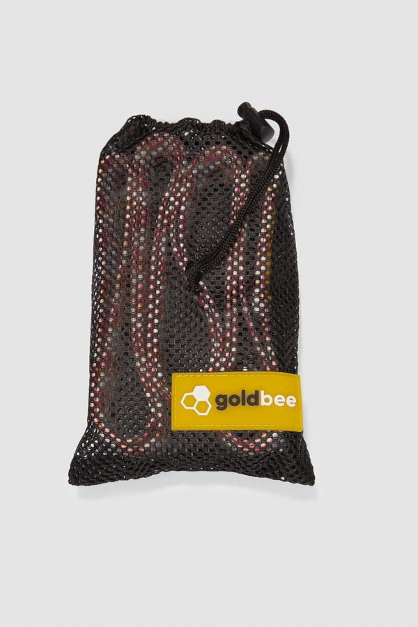 GoldBee Textilní Odporová Guma Dlouhá - Donuts, L - 3