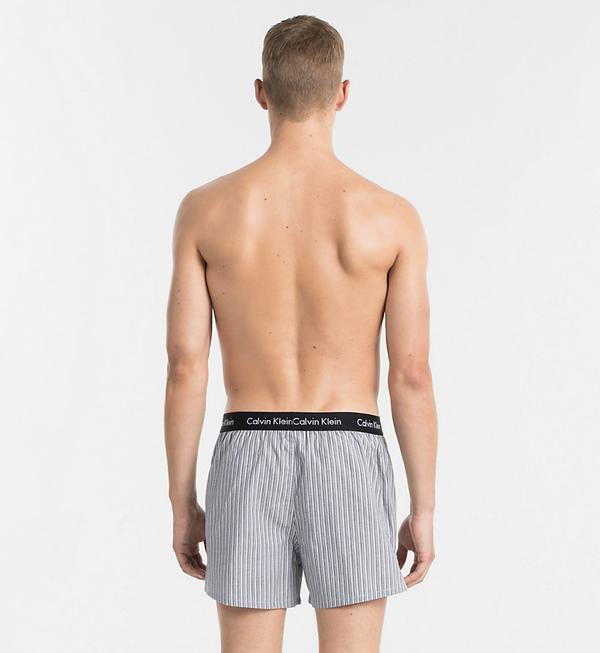 Calvin Klein 2Pack Trenky Černé Se Vzory - 3