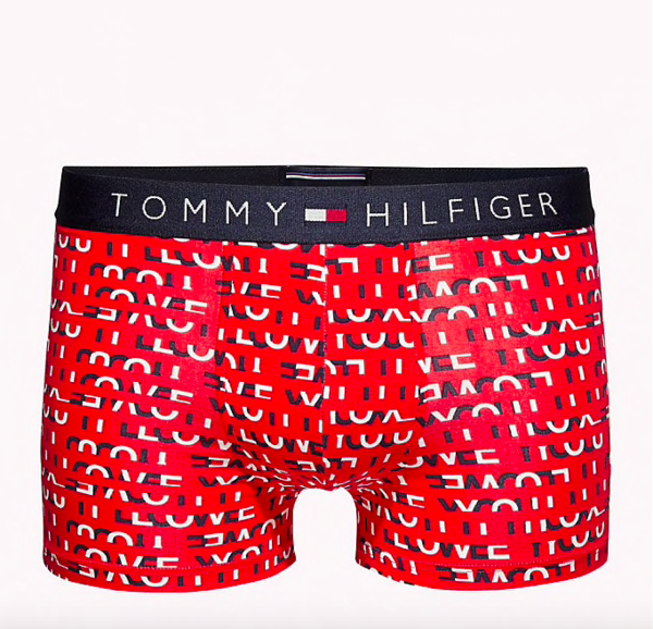 Tommy Hilfiger Boxerky Micro Love Red, M - 3