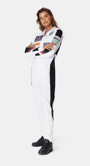OnePiece Overal Formula White - 3